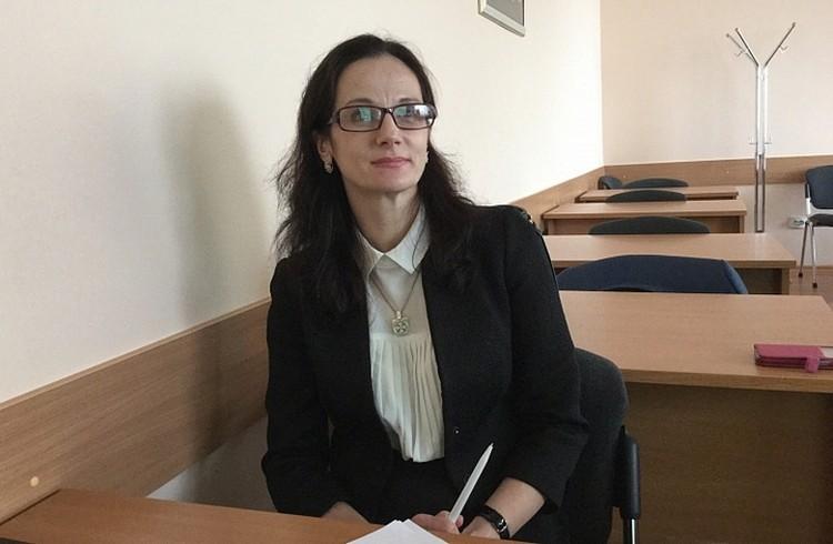 Директор вуза Оксана Мартыненко. Фото: dvfu.ru