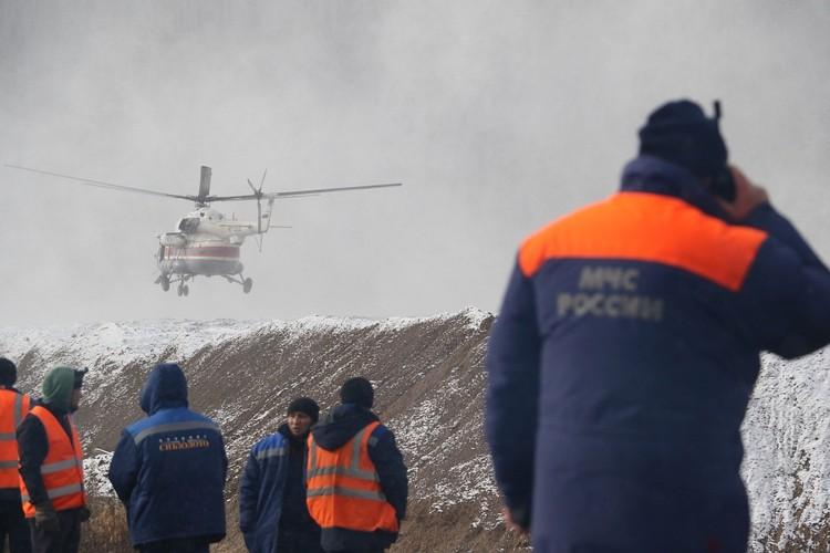 Поиски пропавших без вести осложняет сильная метель Фото: ГУ МЧС по Красноярскому краю