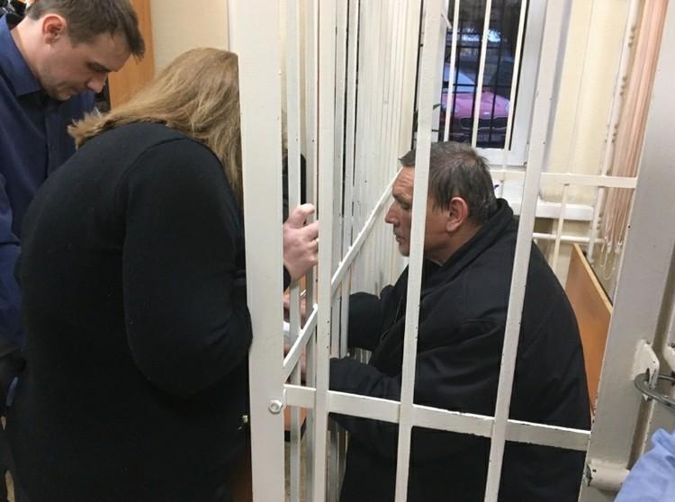 Андрей Еганов не отрицает вины Фото: Екатерина ПЕРЫШКИНА