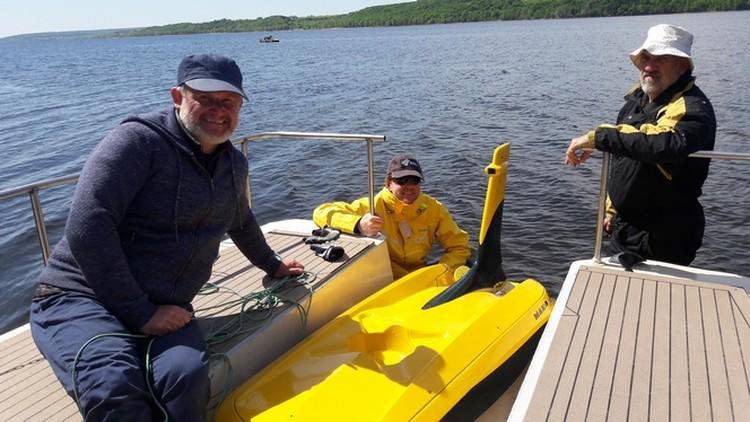 Для исследований понадобились водолазы и подводный робой-глайдерон. Фото: СамГТУ