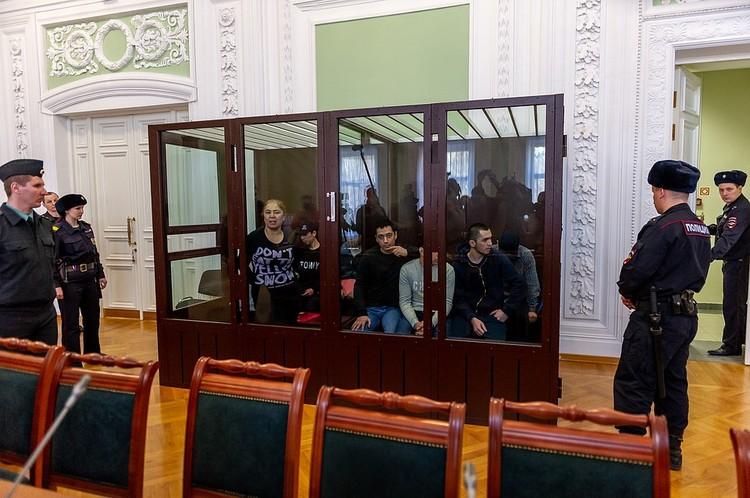 Обвиняемые по делу о теракте в Петербурге