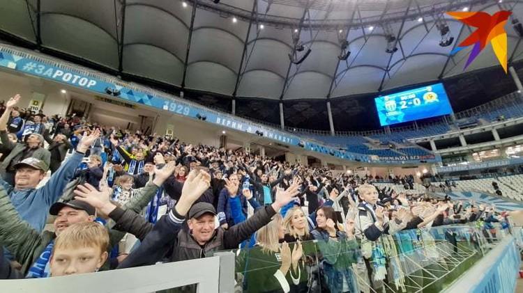Фанаты ликовали - Ротор уверенно идет в премьер-лигу.
