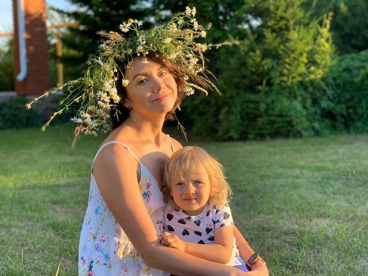 Елена Золина - мама троих детей. Фото: героя публикации