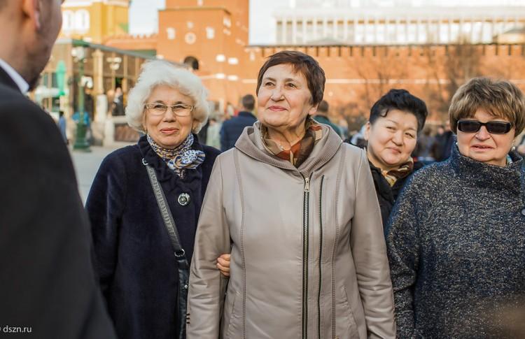 Социальная поддержка москвичей старшего возраста.