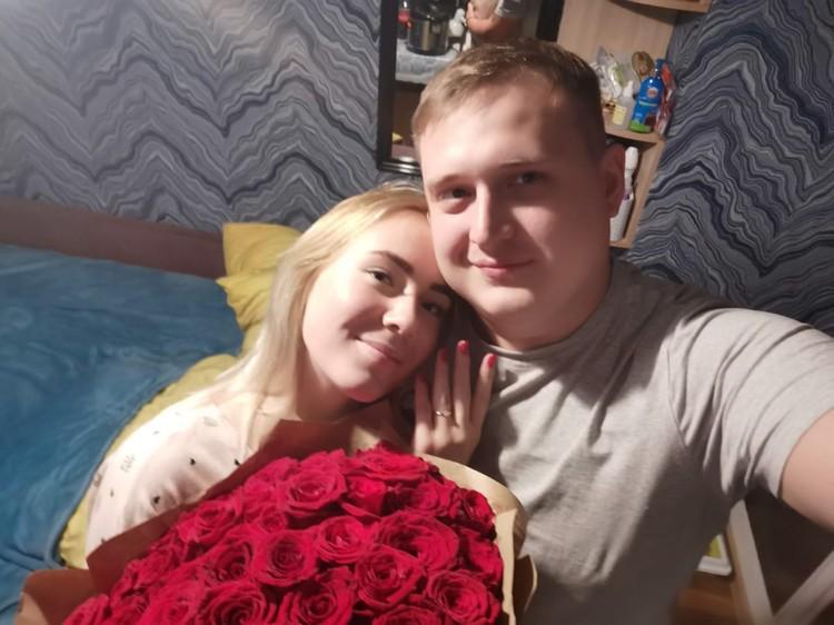 Владислав и Кристина очень счастливы вместе Фото: Владислав Беклемищев