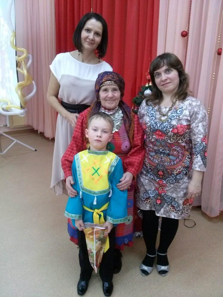 На песенном конкурсе в детском саду. Фото: из личного архива