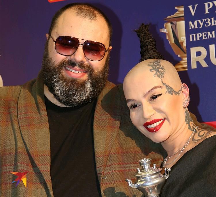 Максим Фадеев и Наргиз, 2015 год.