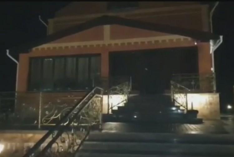 Коттедж Лаврентьева. ФОТО: кадр видео СК РФ.
