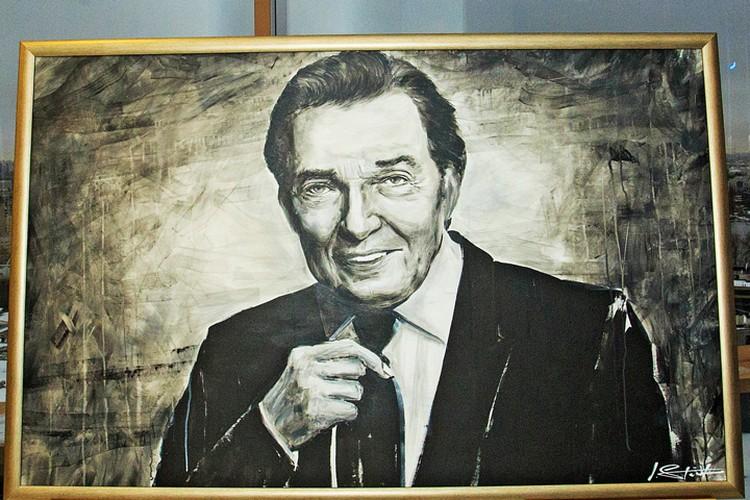 Портрет Карела Готта. Фото предоставлено фондом «Созидающий мир».