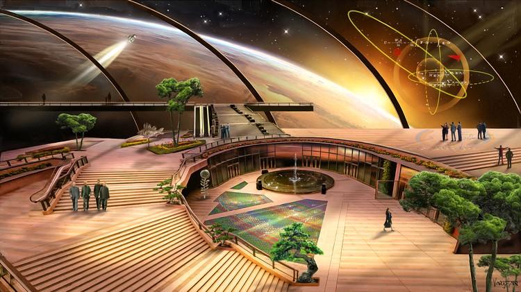 О том, что землянам придется искать пристанище вне планеты, фантасты пишут давно. Фото: Джеймс Вон/Министерство информации и коммуникаций Асградии.