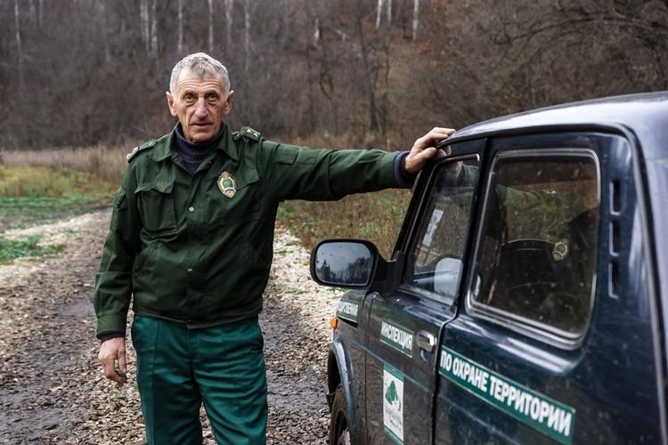 Начальник Волжского участкового лесничества Национального парка «Самарская лука» Николай Малолетний
