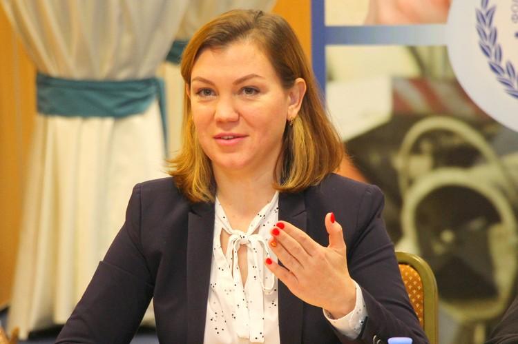 Динара Поштаренко отметила важность правовых отношений между работодателем и работником. Фото Ивана Горбунова