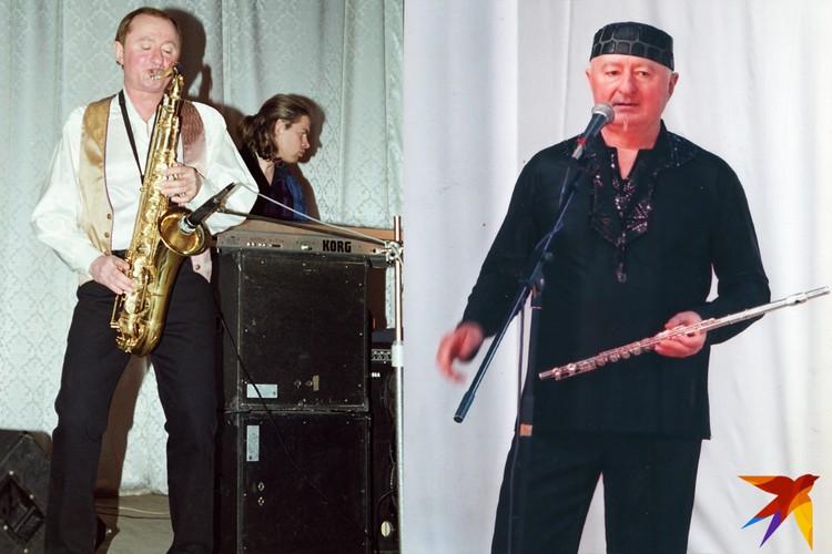 """За пару лет в """"Белорусских песнярах"""" Мисевич задумался о том, что, несмотря на возраст, надо привести себя в форму. Фото: Личный архив"""