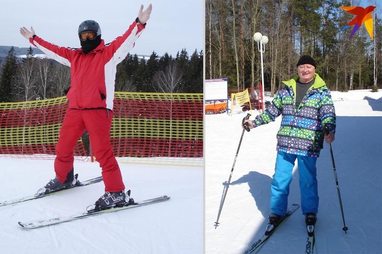 Любовь к лыжам, говорит Мисевич, - это из детства. Фото: Личный архив