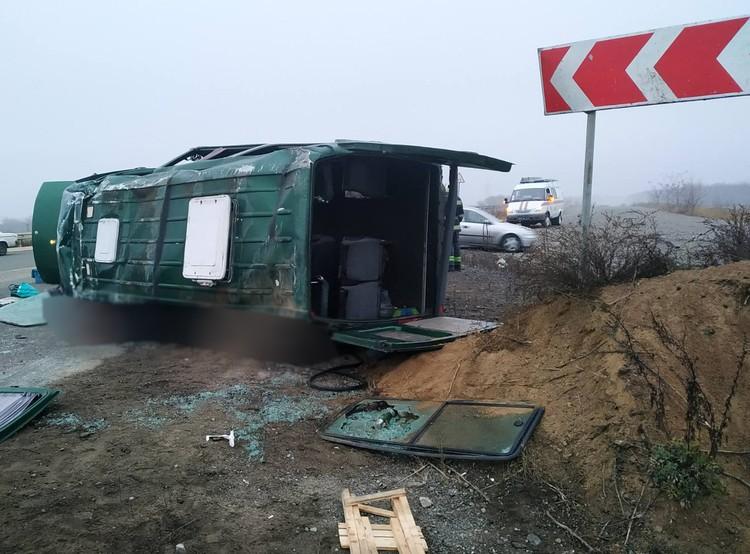 В ДТП на Петровке два человека погибли, еще двенадцать – травмированы. Фото: УГАИ МВД ДНР