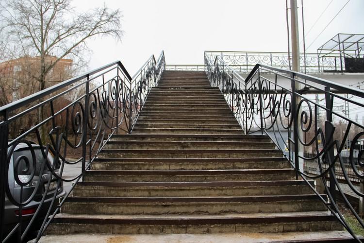 Наверху на мостике - ощущение не из приятных.