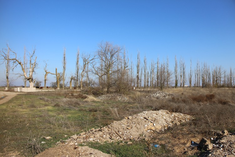 Дашу отчим закопал в куче мусора возле пересохшего канала.