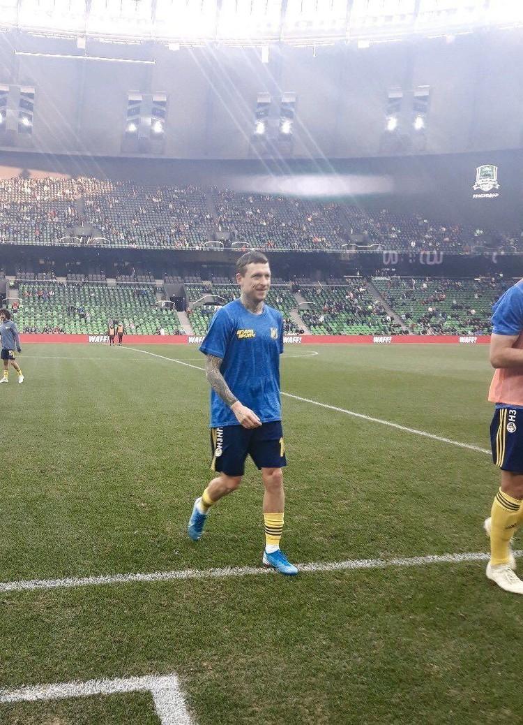 Павел Мамаев вернулся в большой футбол. Фото: twitter.com/rostovfc