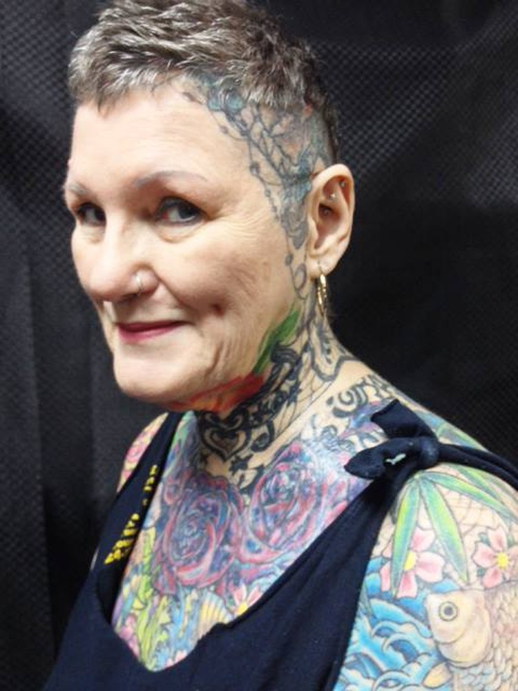 Шарлотт побила мировой рекорд по количеству татуировок Фото: https: facebook.com/charlotte.guttenberg.5