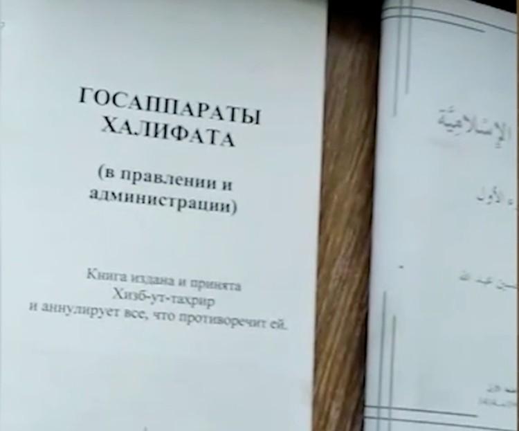 При задержании по местам жительства преступников обнаружено и изъято значительное количество запрещенных в России пропагандистских материалов. Фото: ФСБ РФ