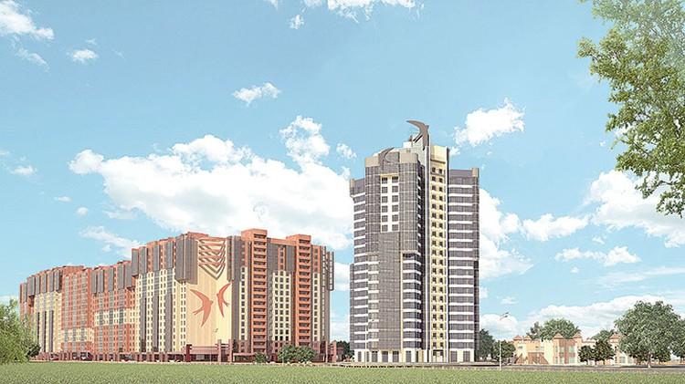 Самое высокое здание в Иркутской области - «Башня «Небо». Фото: «Восток Центр Иркутск»