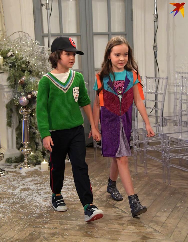 Дети Киркорова растут такими же модниками, как их папа