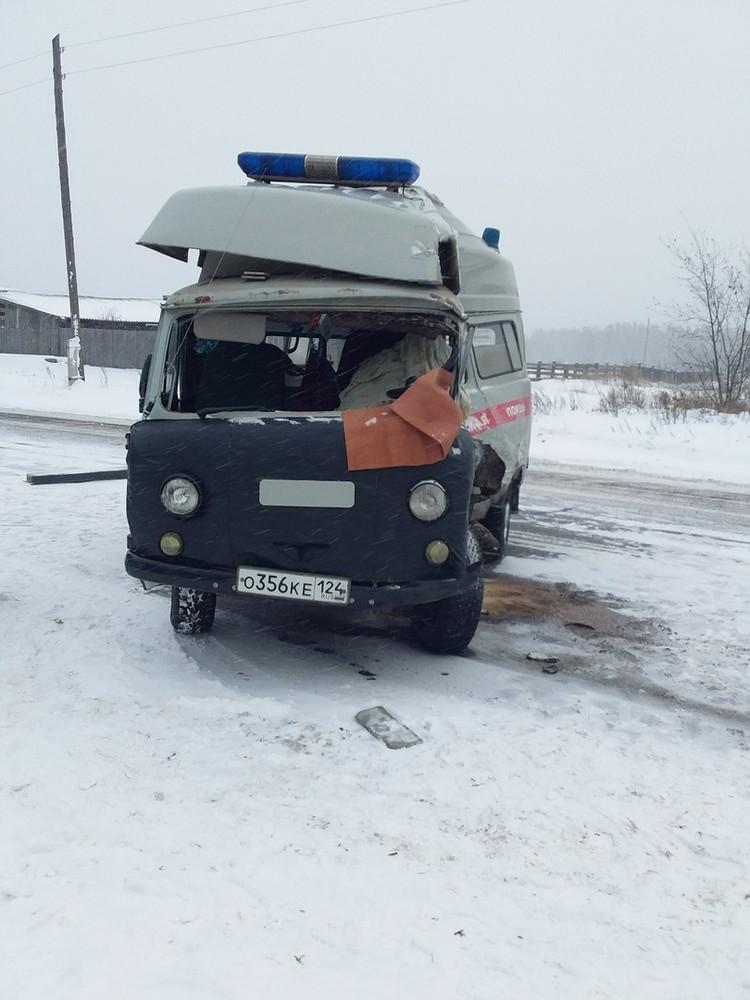 Водитель не выжил. Фото: ЧП - Канск.