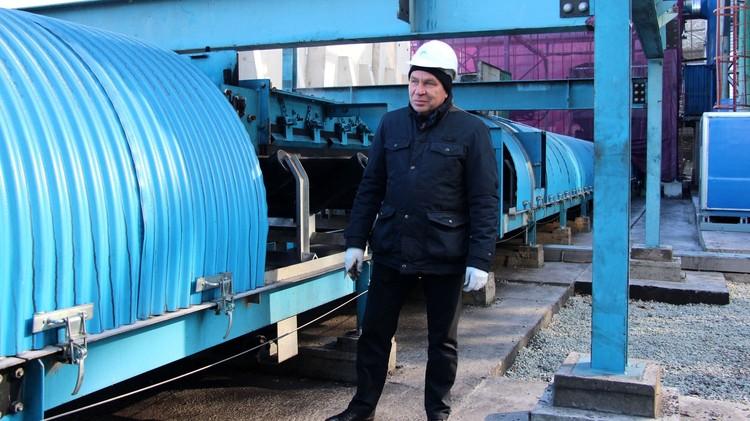 Исполнительный директор «Терминал Астафьева» Александр Ганин рассказал о запуске конвейерной линии
