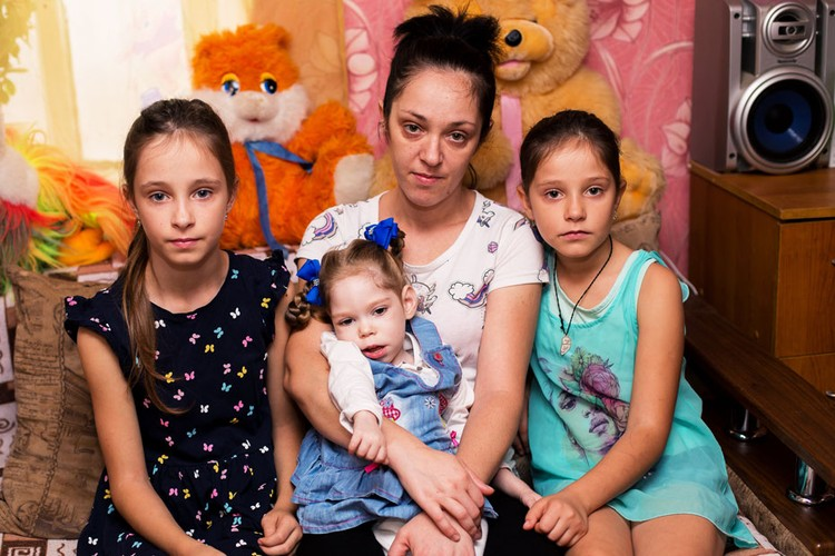 Лиза Клименко - четвертый, самый младший ребенок в семье. Фото: Яна ПЕТРЕНКО