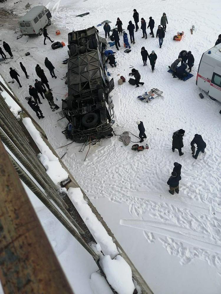 В аварии погибли 19 человек.