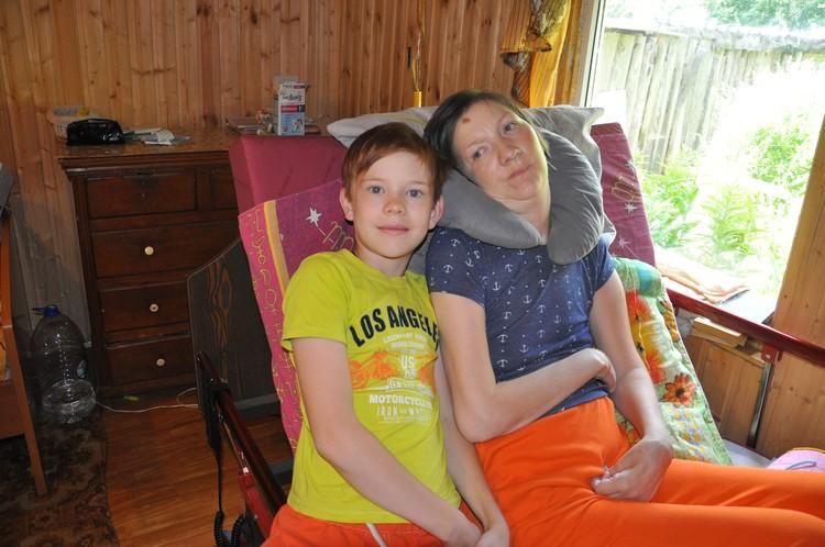 Ирина Банникова с сыном сейчас