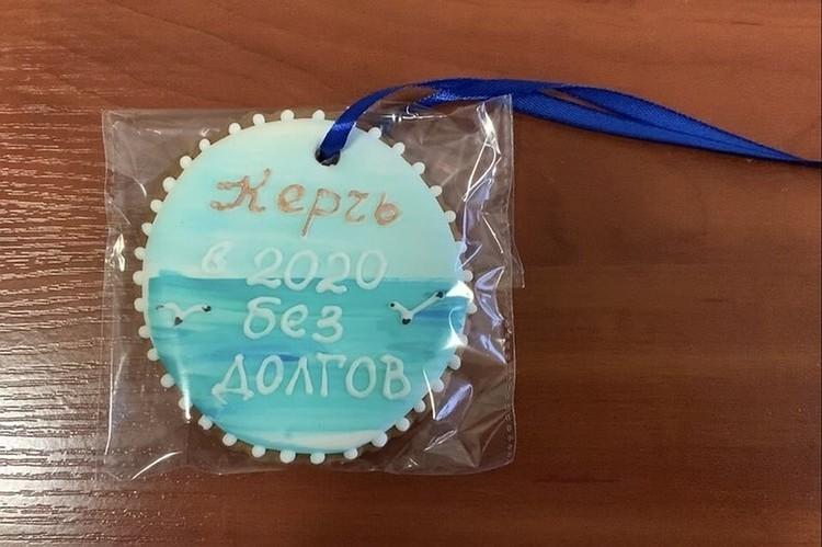 Керченские налоговики поощряют плательщиков хенд-мейдом. Фото: УФНС