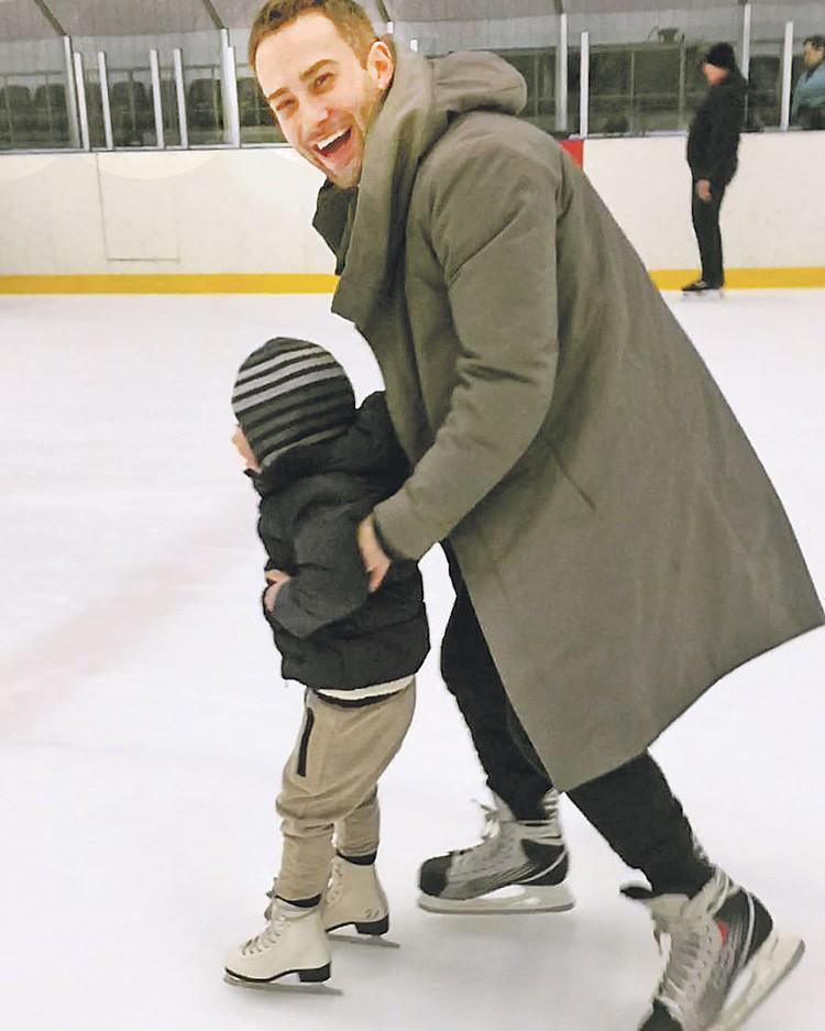 Дмитрий говорит, что сын не забывает маму: они часто говорят о Жанне. Фото: instagram.com