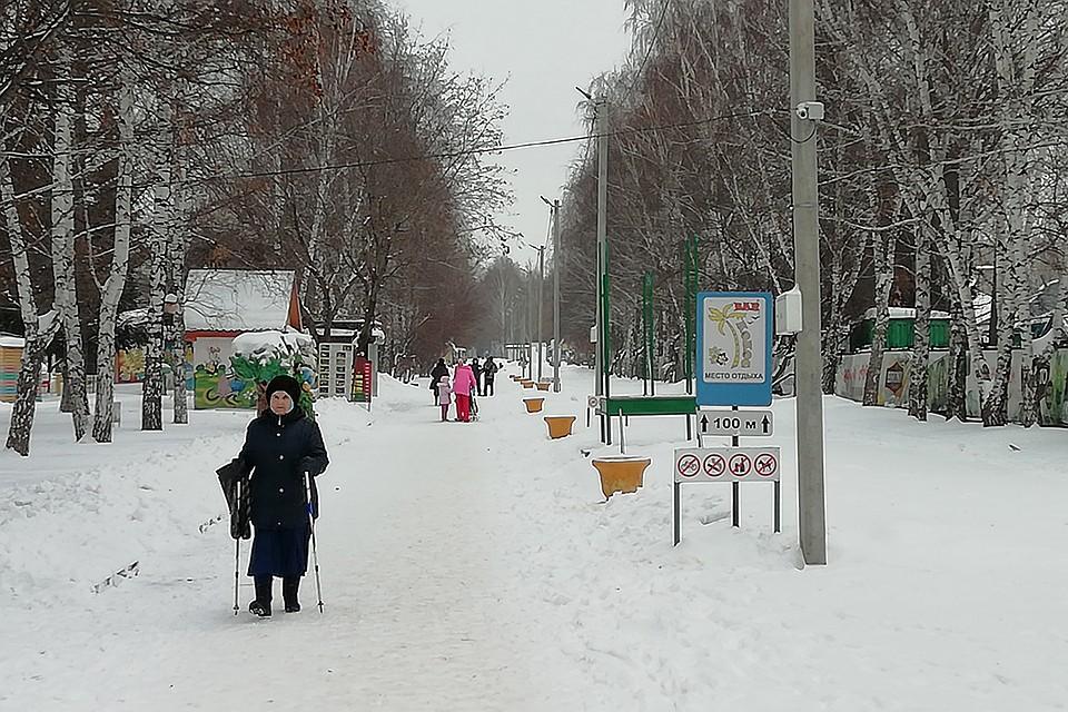 Парк в Индустриальном районе   Фото: АННА СЕМИНА