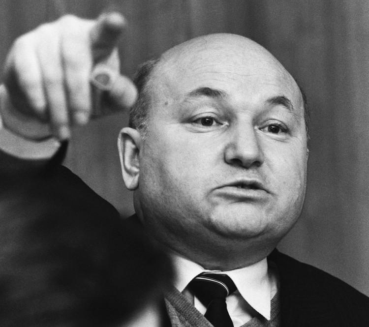 Председатель Москгорагропрома Юрий Лужков, 1987 год. Фото: Соловьев Андрей/Фотохроника ТАСС