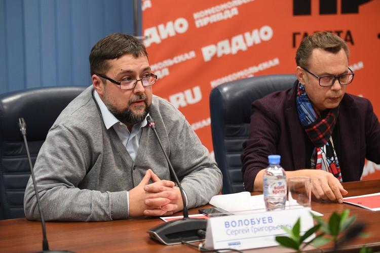 Координатор проекта «Гражданский экзамен» Сергей Волобуев