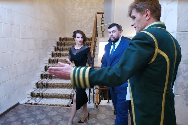 На открытии Сцены на Садовом присутствовал Глава ДНР Денис Пушилин