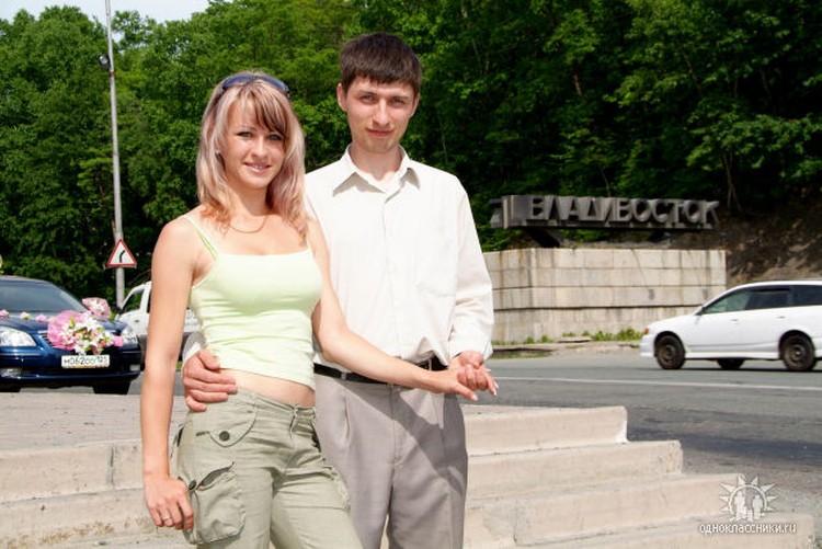 Роман Савва с женой. Фото: из личного архива