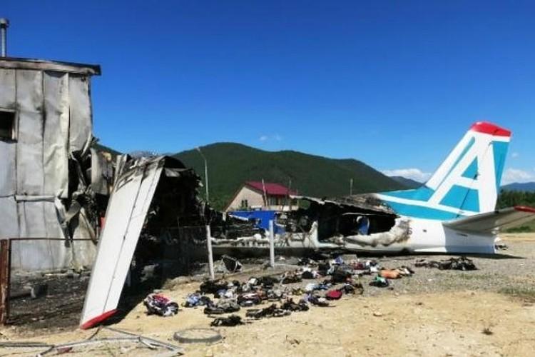 Самолет в авиакатастрофе сгорел полностью. Фото: МАК.