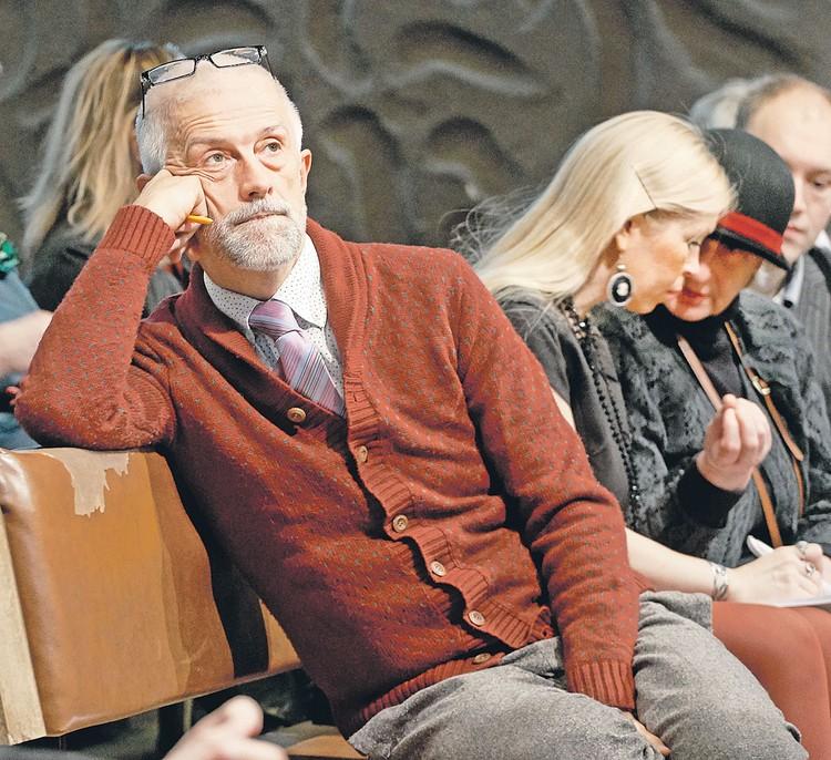Бояков готовится к очередной премьере - спектаклю по знаменитому роману Водолазкина «Лавр». Фото: Дмитрий Коробейников/ТАСС