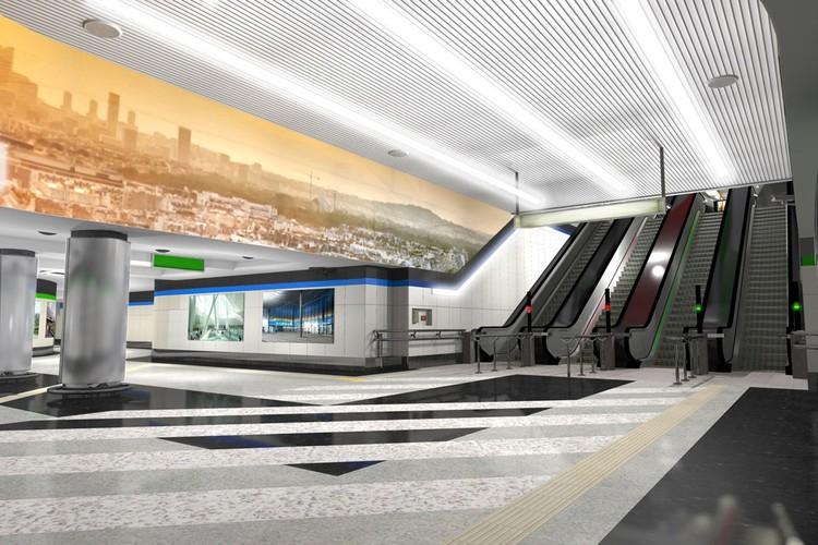 Станция Вокзальная будет стыковочной между первой и третьей ветками метро