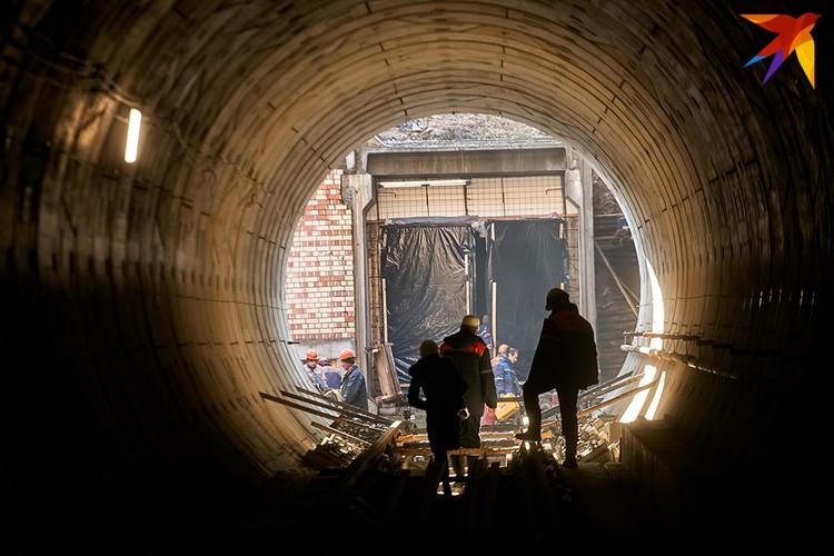 Через полгода в Минске запустят четыре новые станции метро.