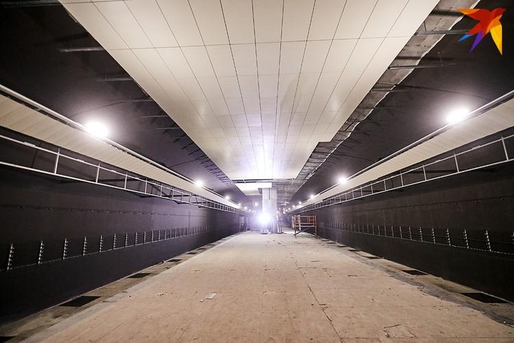 Станция Ковальская слобода готова на 98%.