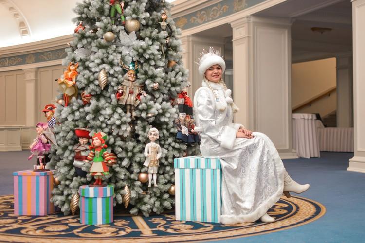 В детстве Екатерина любила новогодние утренники и хороводы в ДК.