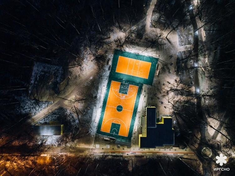 Парк им.А.П.Гайдара. ФОТО:ИРГСНО