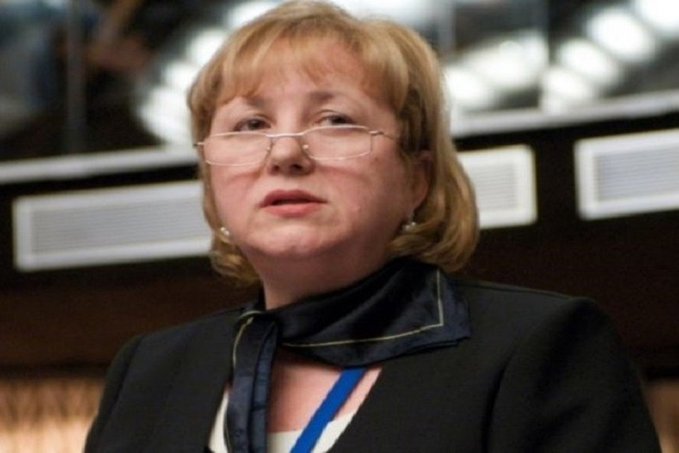Депутат Мария Постойко.