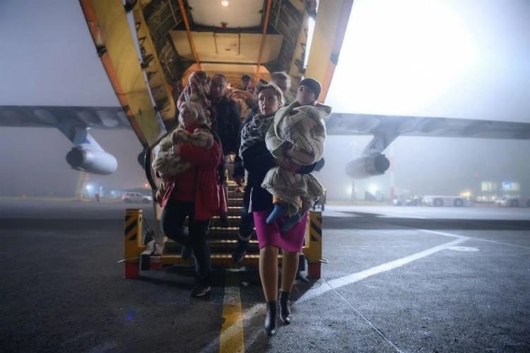 Всего из Ирака в Россию четырьмя рейсами было возвращено 122 ребенка. ФОТО: Пресс-служба Уполномоченного при президенте РФ по правам ребенка