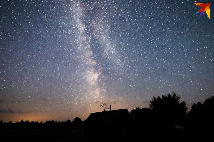 Звездное небо над Ельней.