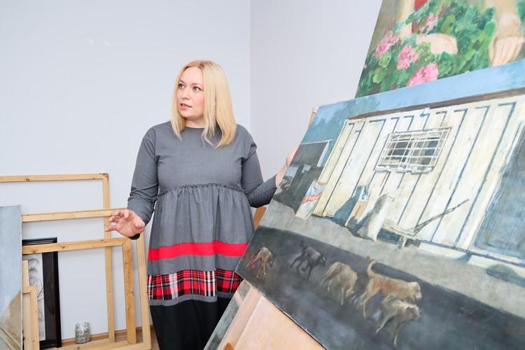 Сегодня Ксения хочет, чтобы ее больше знали как художника, нежели участницу реалити-шоу.