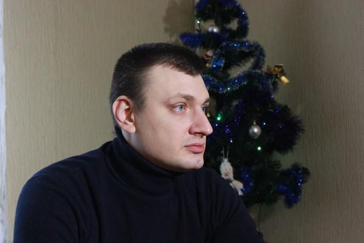 Бывший боец спецподразделения «Беркут» Павел Аброськин